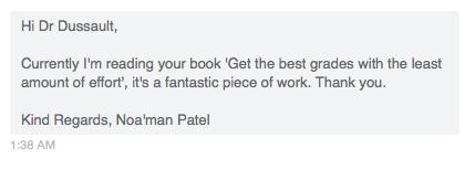 Get Better Grades Testimonial - Patel