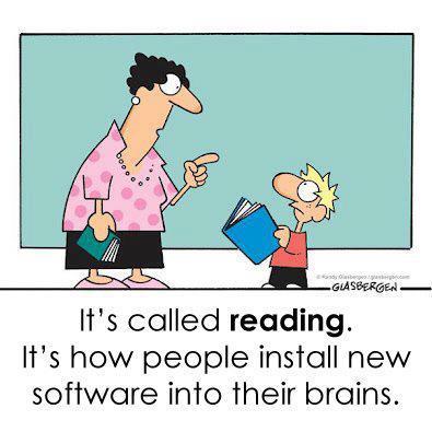 Speed Reading, Reading, Fast Reading, Reading Cartoon