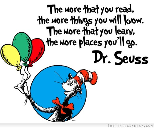Dr Seuss - Read More