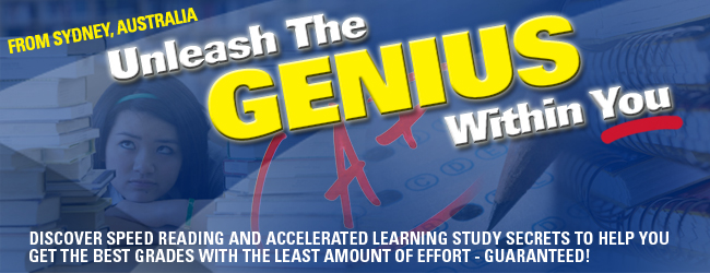 Unleash The Genius Within - Email Banner